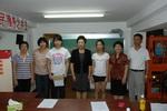 贝博官网app公司与北新泾街道困难学生结对助学活